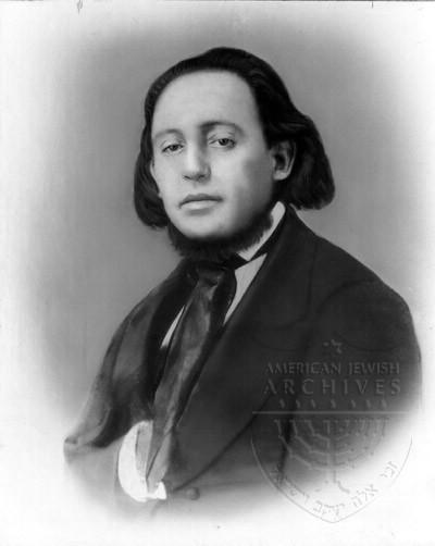 Rabbi Isaac Mayer Wise as young man