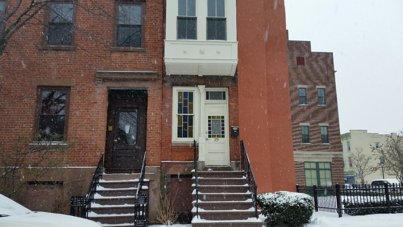 Skinny House on Westerlo Street